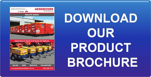 View or Download the Generators Australia Brochure