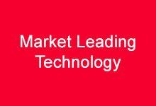 Market Leading Technology