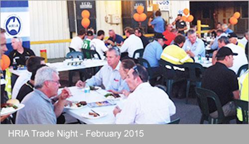 HRIA Trade Night February 2015