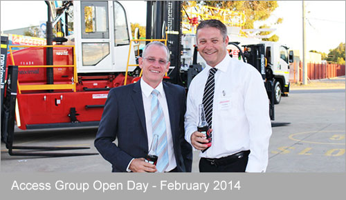 Generators Australia at Access Group's Open Day February 2014