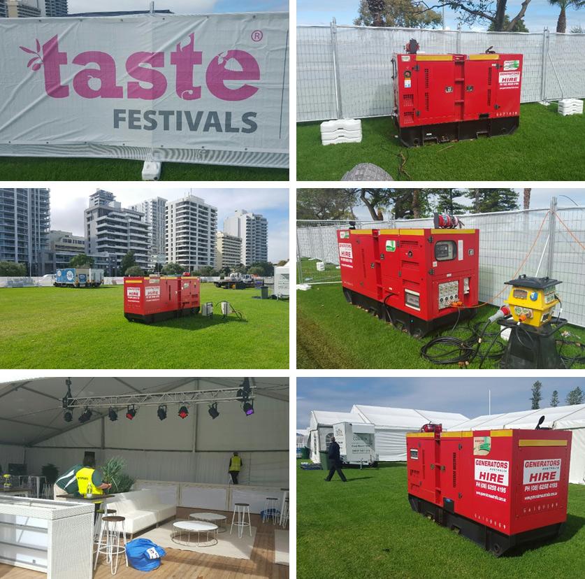 Generators Australia at Taste