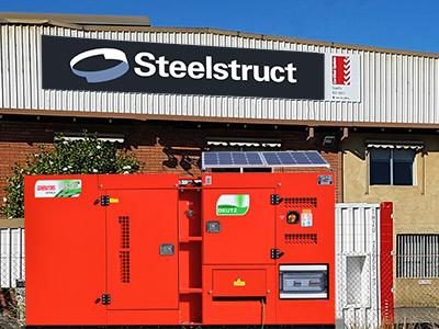 Steelstruct Goes Off the Grid with Generators Australia