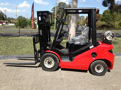 New Petrol/LPG Forklifts Available