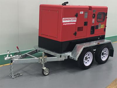 New Trailer Mounted 10kVA Generator