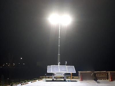 New Solar Powered Lighting Tower
