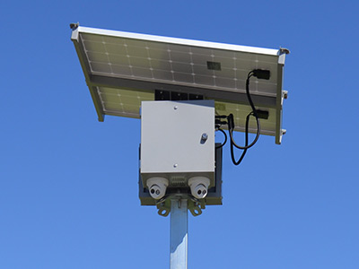 Increase Safety on Your Site With Our Solar-Powered Mobile Security Cameras