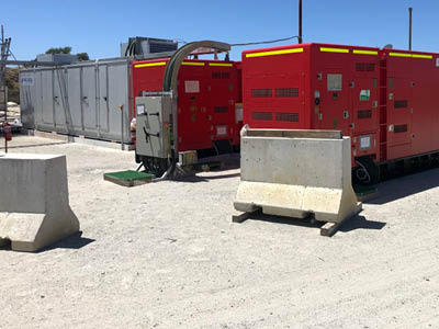 Powering underground freezers in remote locations