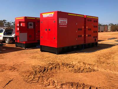 Generators Australia powering Wiluna